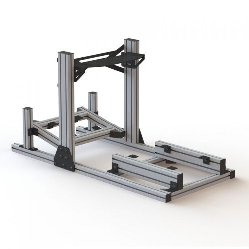 SRC-1-PLUS-Simracing cockpit aluminio